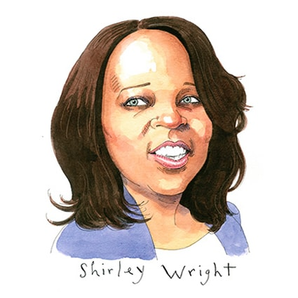 Shirley J. Wright