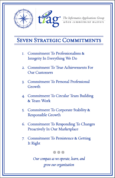 TIAG's Strategic Commitments